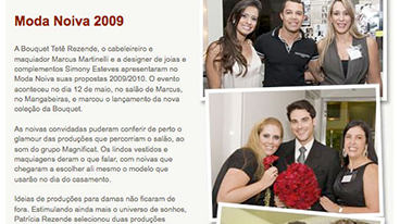 Newsletter Bouquet Tetê Rezende